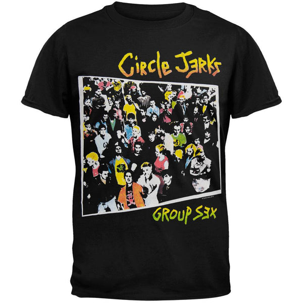 Circle Jerks - Group Sex T-Shirt