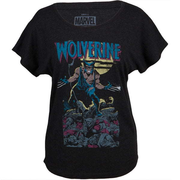 Wolverine - Soft Quest Juniors Dolman T-Shirt