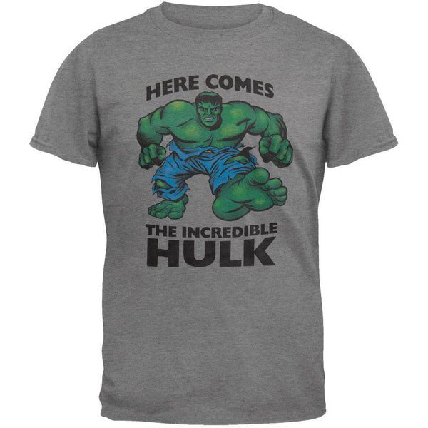 Incredible Hulk - Here Comes Tri-Blend Soft T-Shirt