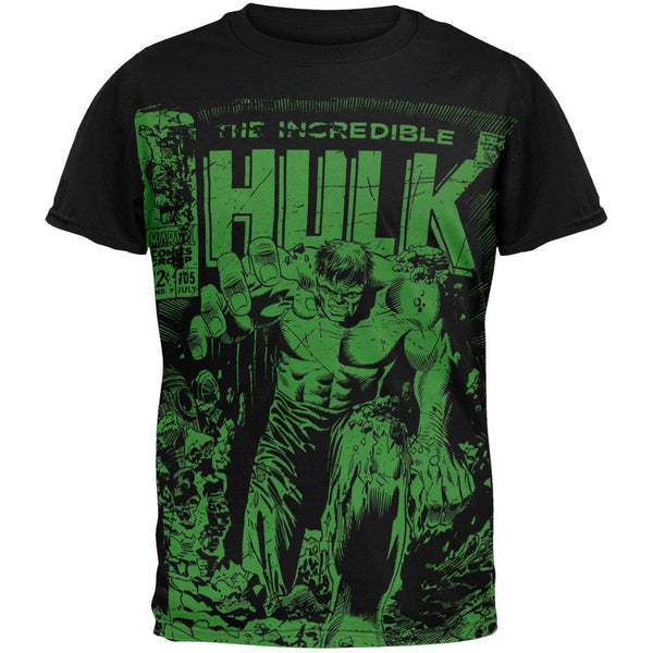 Incredible Hulk - Monster Unleashed Subway T-Shirt