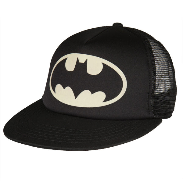 Batman - Glow In the Dark Logo Trucker Cap