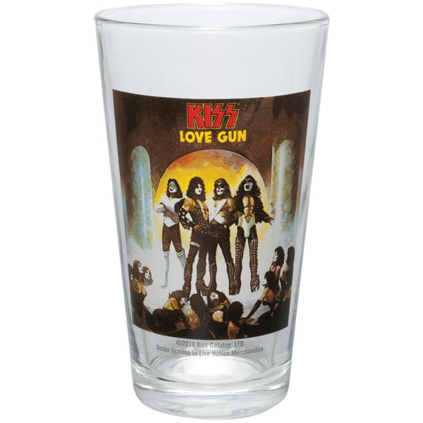 Kiss - Love Gun Pint Glass
