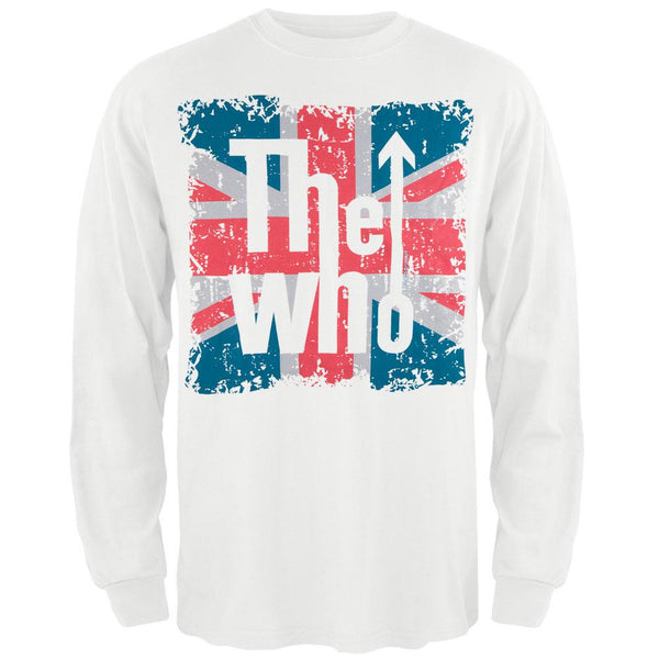 The Who - Flag Logo Long Sleeve T-Shirt