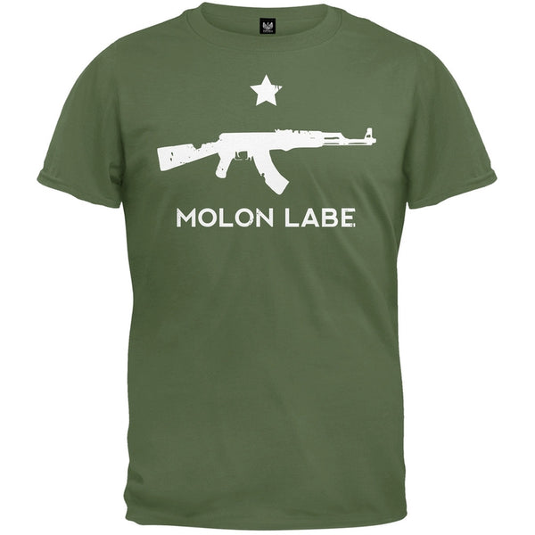 Molon Labe AK47 Military Green T-Shirt