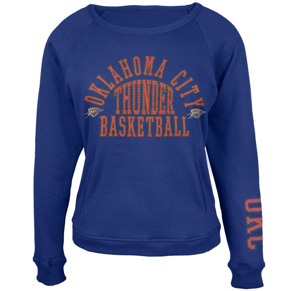 Oklahoma City Thunder - Overtime Juniors Crew Neck Sweatshirt