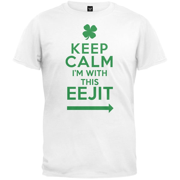 Keep Calm I'm With This EEJIT T-Shirt