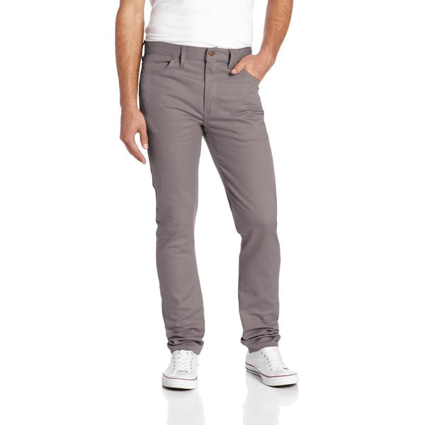 Dickies - 810 Gravel Grey 5-Pocket Slim Fit Skinny Leg Work Pant