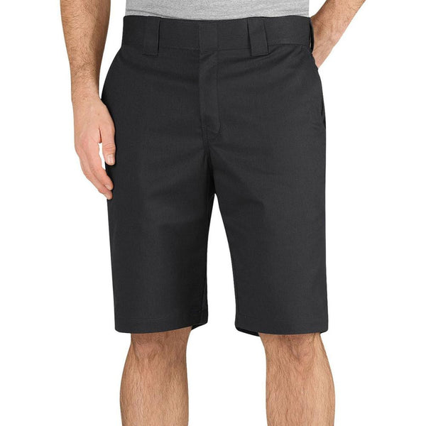 "Dickies - 819 Black Regular Fit 11"" Industrial Work Shorts"