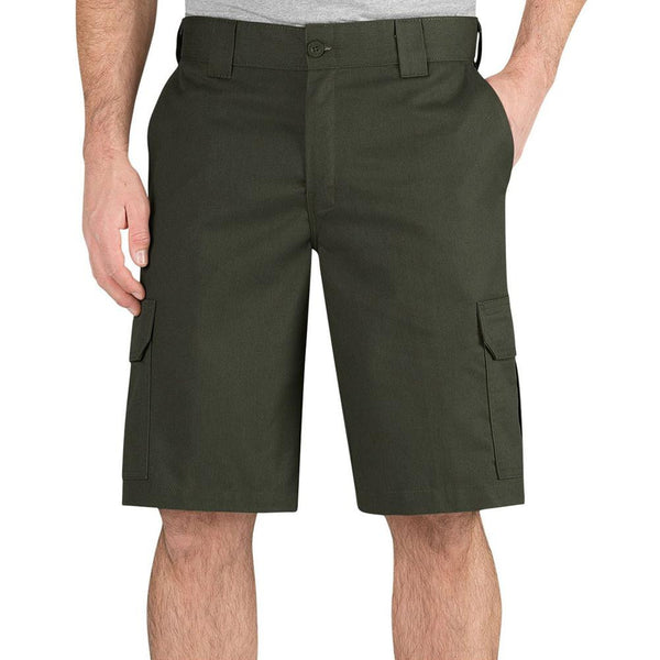 "Dickies - 556 Grape Leaf Regular Fit 11"" Cargo Shorts"