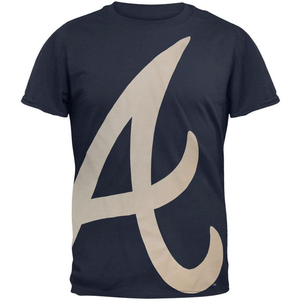 Atlanta Braves - Overgrown Logo Soft T-Shirt