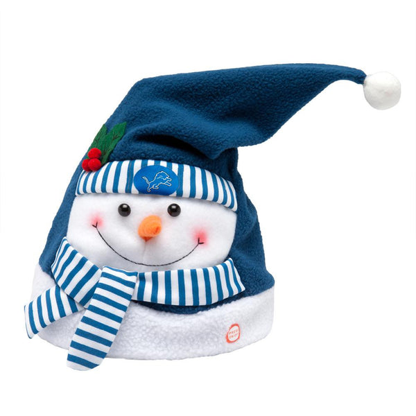 Detroit Lions - Snowman Musical Stocking Hat