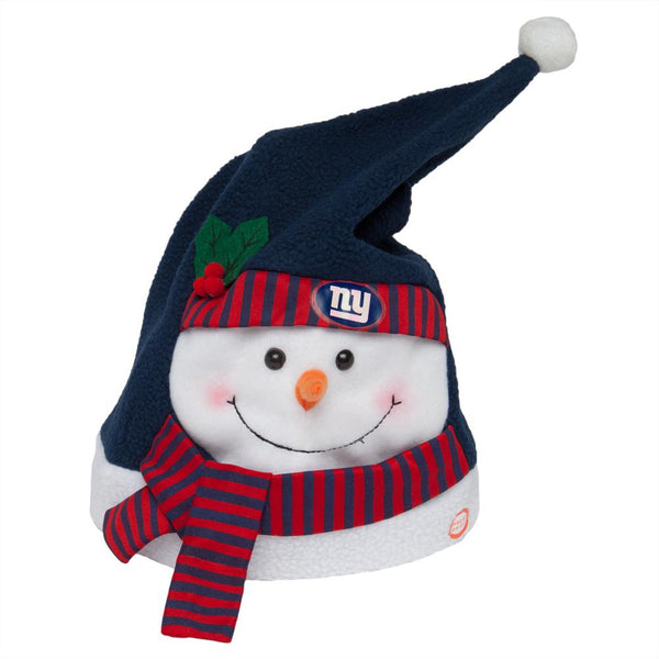 New York Giants - Snowman Musical Stocking Hat