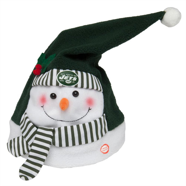 New York Jets - Animated Snowman Musical Stocking Hat