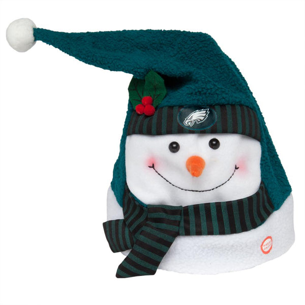 Philadelphia Eagles - Animated Snowman Musical Stocking Hat