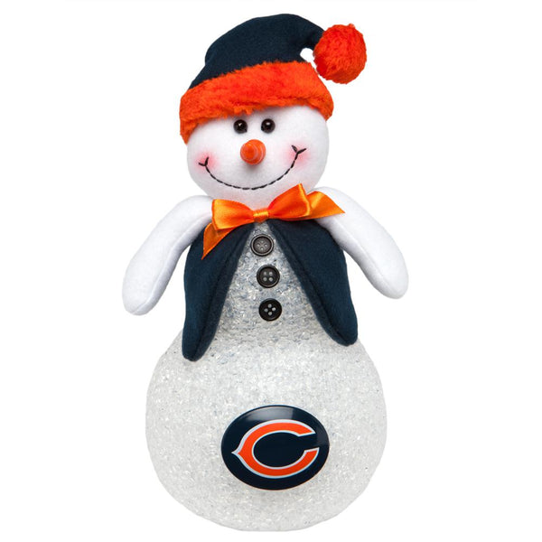 Chicago Bears - Light-Up Tabletop Snowman