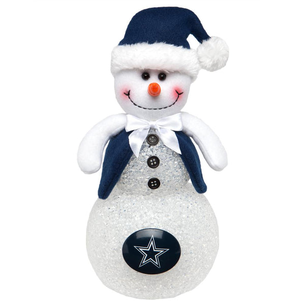 Dallas Cowboys - Light-Up Tabletop Snowman