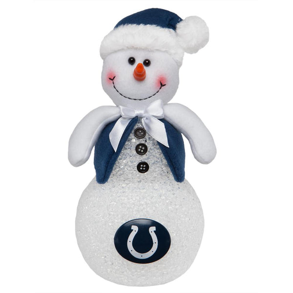 Indianapolis Colts - Light-Up Tabletop Snowman