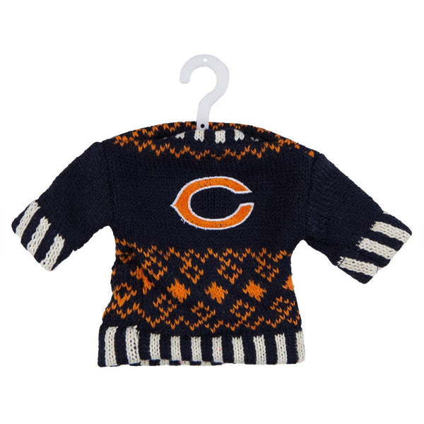 Chicago Bears - Knit Sweater Ornament