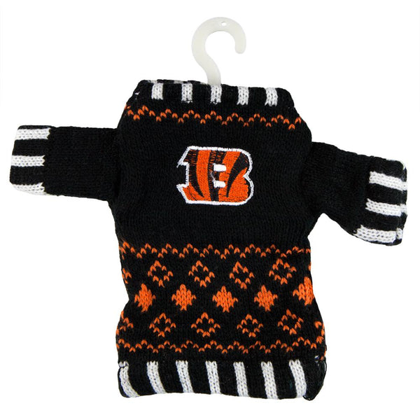 Cincinnati Bengals - Knit Sweater Ornament