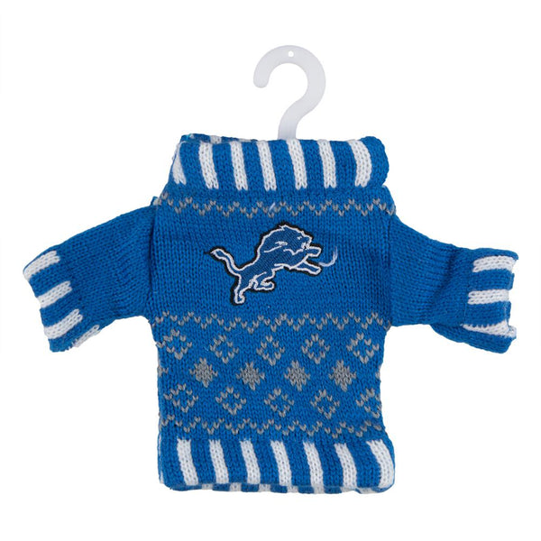 Detroit Lions - Knit Sweater Ornament
