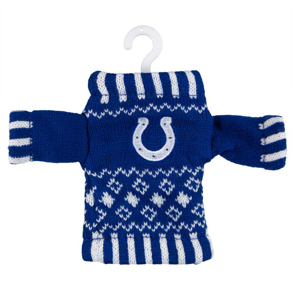 Indianapolis Colts - Knit Sweater Ornament