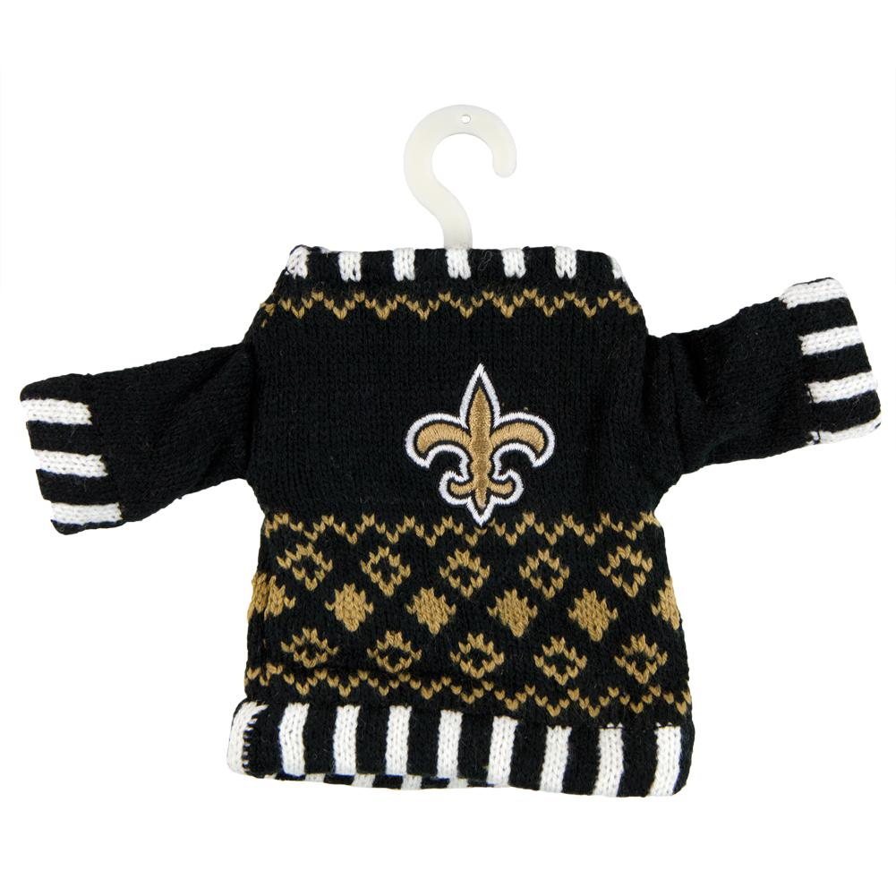 on sale 9f83a dc067 New Orleans Saints - Knit Sweater Ornament