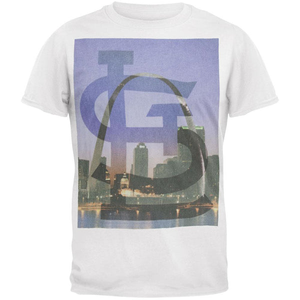 St. Louis Cardinals - Sinatra City Scene Soft T-Shirt
