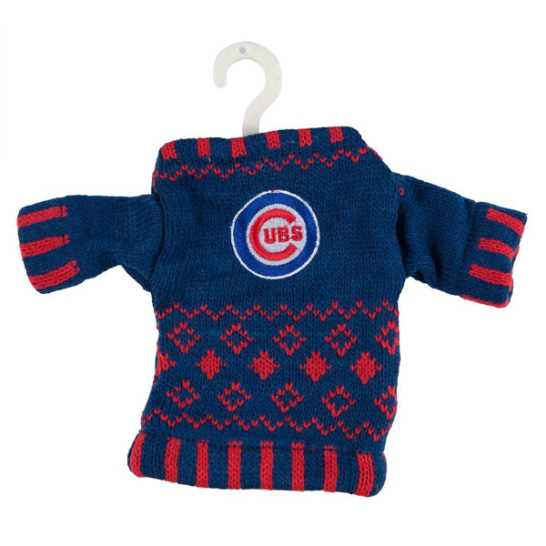 Chicago Cubs - Knit Sweater Ornament