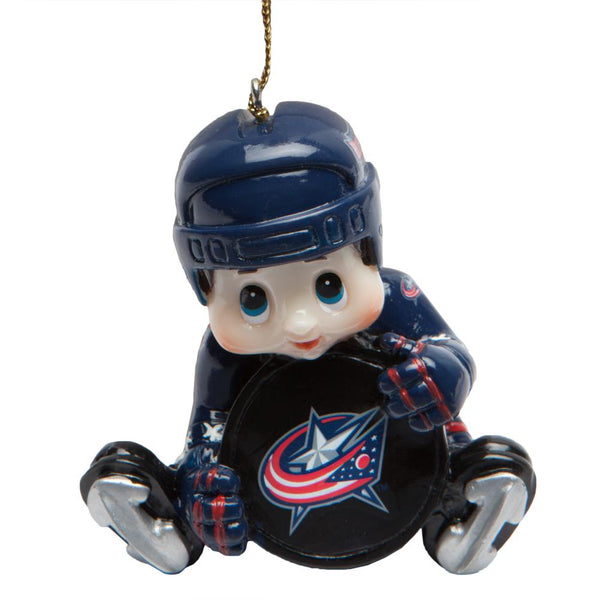 Columbus Blue Jackets - Lil Player Ornament