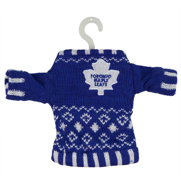 Toronto Maple Leafs - Knit Sweater Ornament
