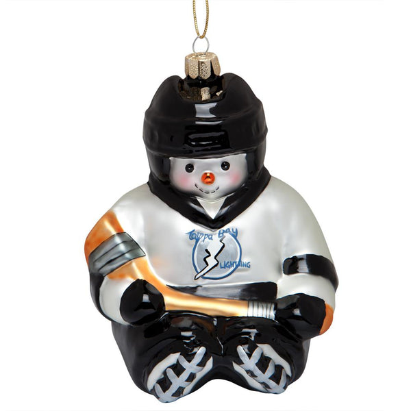 Tampa Bay Lightning - Snowflake Friend Glass Ornament