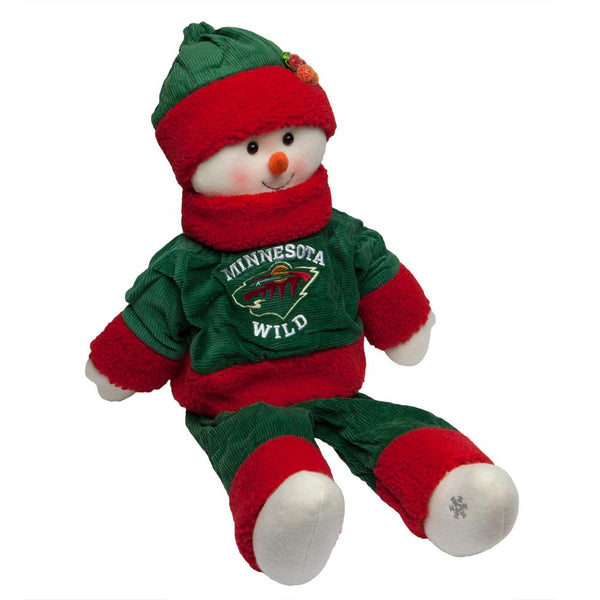 Minnesota Wild - Snowflake Friend Plush Snowman