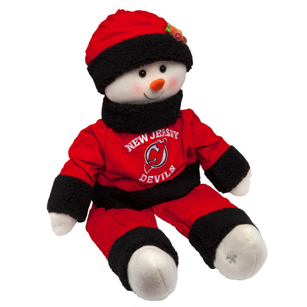 New Jersey Devils - Snowflake Friend Plush Snowman