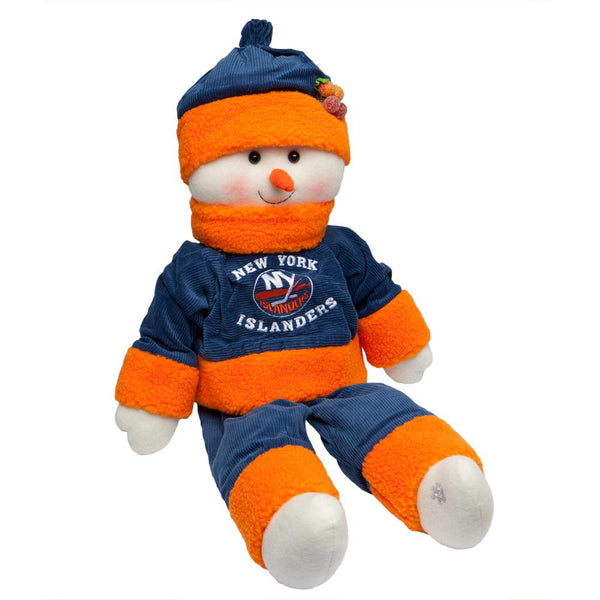 New York Islanders - Snowflake Friend Plush Snowman