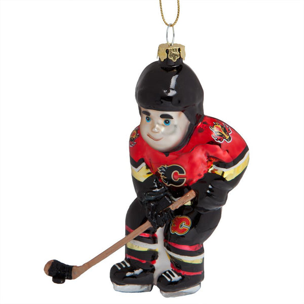 Calgary Flames - Hockey Player Ornament