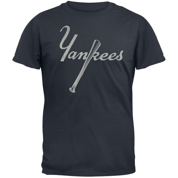 New York Yankees - Vintage Bat Logo Soft T-Shirt