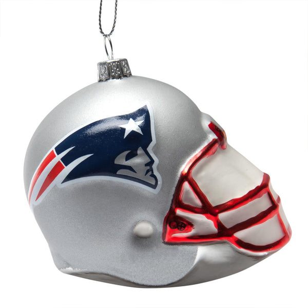 New England Patriots - Glass Helmet Ornament