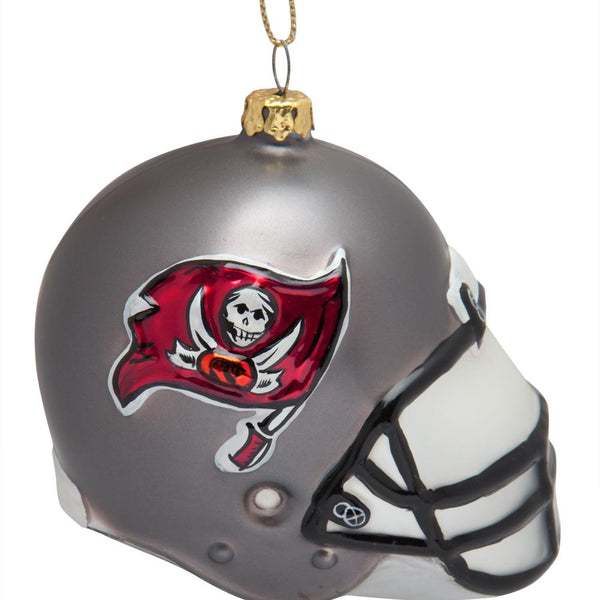 Tampa Bay Buccaneers - Glass Helmet Ornament