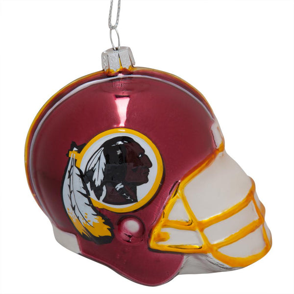 Washington Redskins - Glass Helmet Ornament