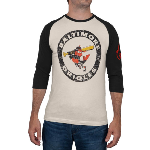 Baltimore Orioles - Logo Alliance Raglan
