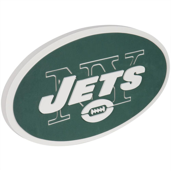 New York Jets - Logo 3D Foam Hand And Wall Sign