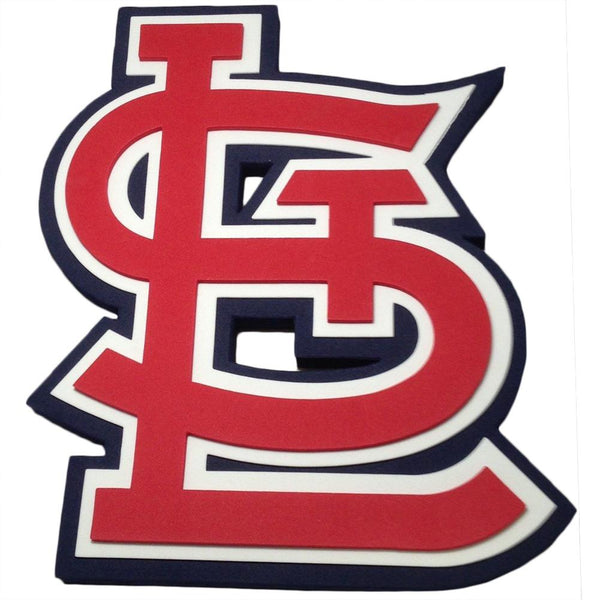 St Louis Cardinals - Logo 3D Foam Hand And Wall Sign