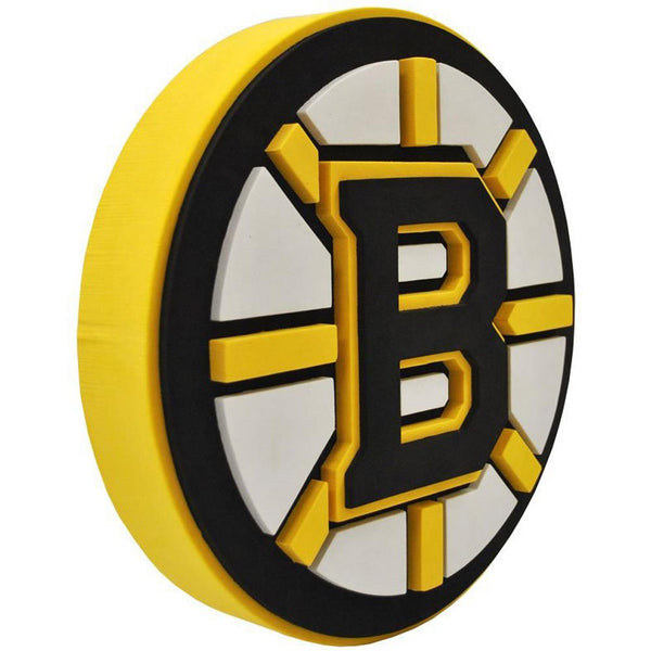 Boston Bruins - Logo 3D Foam Hand And Wall Sign