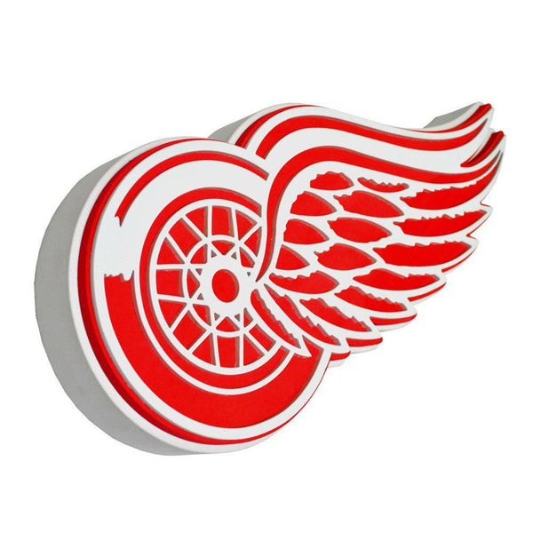 Detriot Red Wings - Logo 3D Foam Hand And Wall Sign