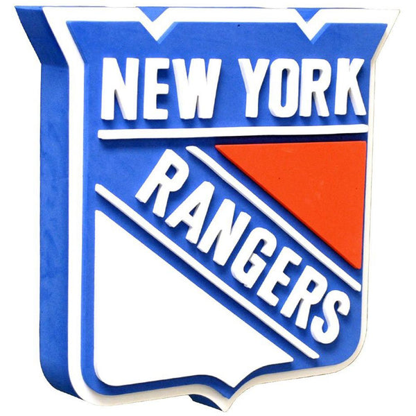 New York Rangers - Logo 3D Foam Hand And Wall Sign