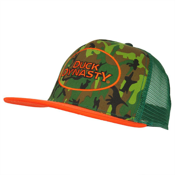 Duck Dynasty - Oval Logo Camo Trucker Cap