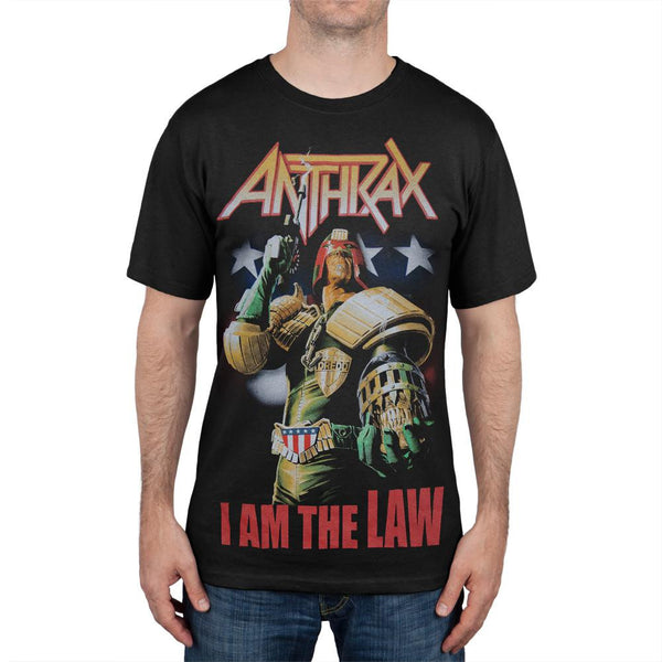 Anthrax - Judge Dredd Tour T-Shirt