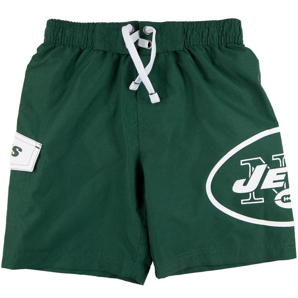 New York Jets - Large Logo Juvy Board Shorts