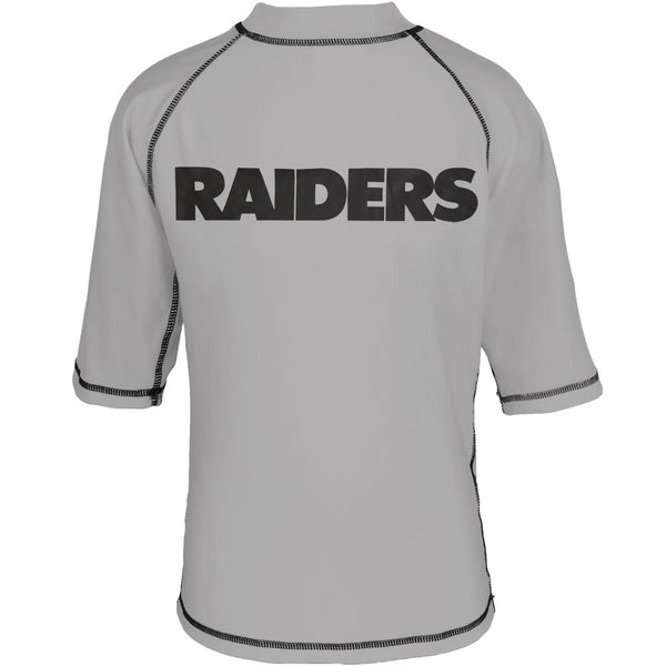 Oakland Raiders - Logo Rash Guard Youth T-Shirt