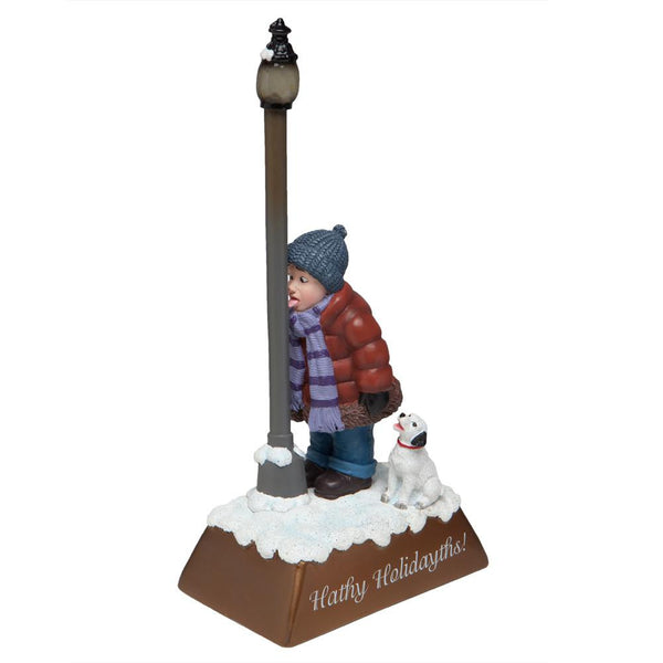 Holly Jollies - Hathy Holidayths Lighted Figurine